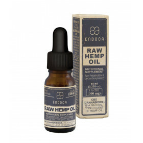 Endoca CBD Olie Raw 10 ml 3% Cbd