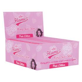 Display Flamez Pink King Size Slim Box 50Pcs