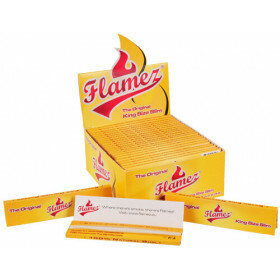 Flamez Yellow King Size Slim Box 50 pakjes