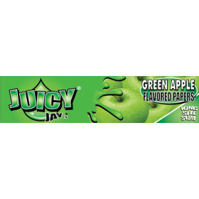 Juicy Jays Green Apple King Size Slim 1 Pc