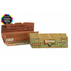 Greengo 2 In 1 Unbleached Regular Papers 5 Pack