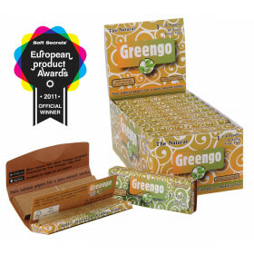 Display Greengo Unbleached 1 1/4 2 In 1 24 Pcs