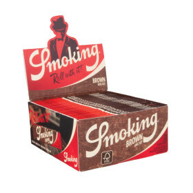 Smoking Brown King Size Slim 50 pcs