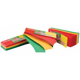 Flamez rasta tips 51 leafs 160 gram 1 pack 514994-1pc
