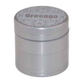 Greengo Grinder 4 Parts 40 Mm Grey