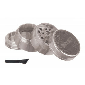 Greengo Grinder 4 Parts 40 Mm Silver