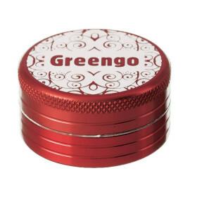 Greengo Grinder 2 Parts 40 Mm Red