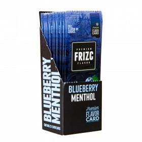 Display Frizc Flavor Card Menthol & Blueberry 25 Pcs