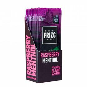 Display Frizc Flavor Card Menthol & Raspberry 25 Pcs