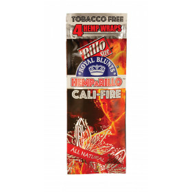 Hemparillo Hemp Blunts Cali-Fire 4 Pcs