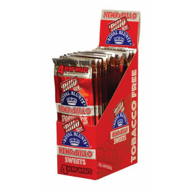 Display Hemparillo Hemp Blunts Sweets 15X4 Pcs