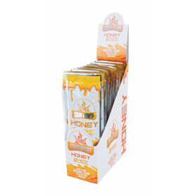 Display True Hemp Blunt Wraps Honey 25X2 Pcs