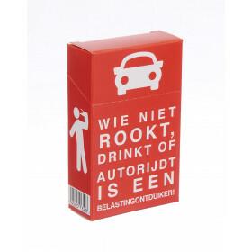 Cigarette Cover Wie Niet Rookt Drinkt Of Autorijdt Is Belast