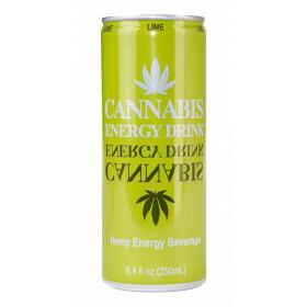 Blik Cannabis Energy Drink Limoen