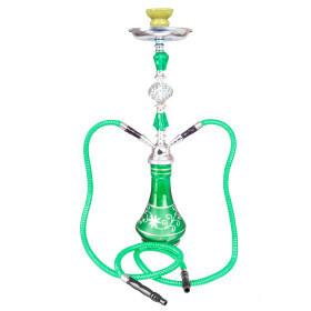 Shisha W 645 Green Globe 53 Cm 2 Hose