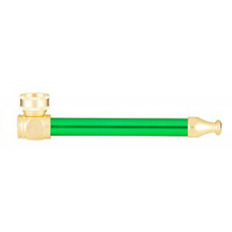 Metal Pipe 11 Cm Green