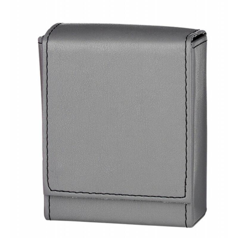 Angelo 25 Cig Box Faux Leather  Grey
