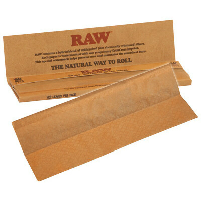 Raw papers king size slim 1 booklet
