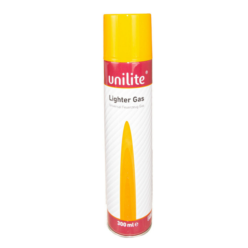Unilite butane lighter gas 1 x 300 ml