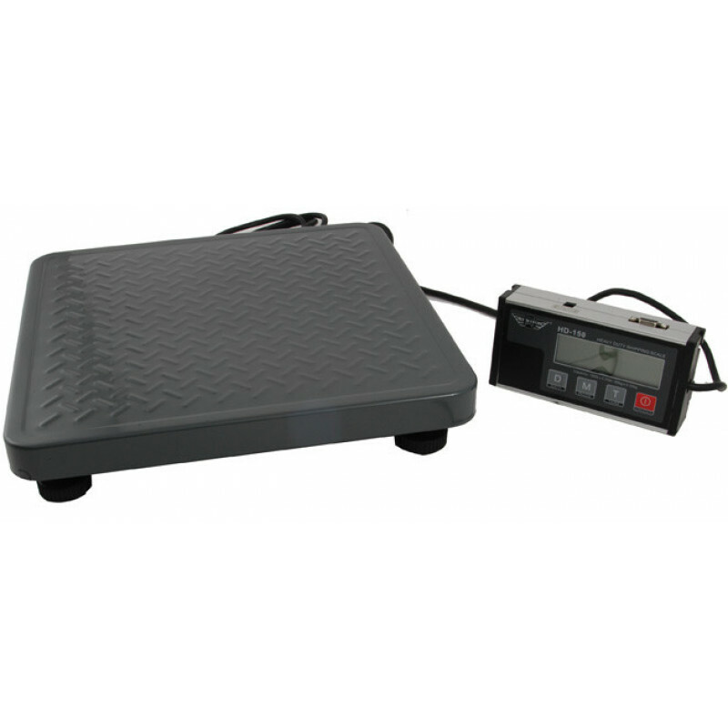 My weigh hd-150 shipping scale w. rs232 port (60kg.x0,02kg)