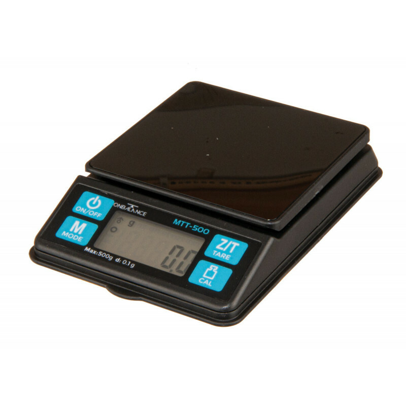 On balance mini table top scale 500 x 0.1 gr