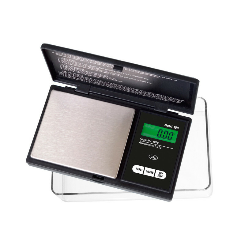 Nutri-100 Miniscale Black With Large Tray 100X0,01Gr