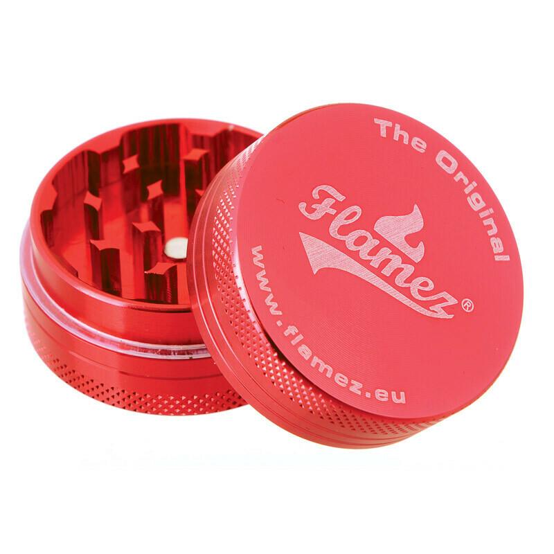 Flamez grinder 2 parts 40 mm red