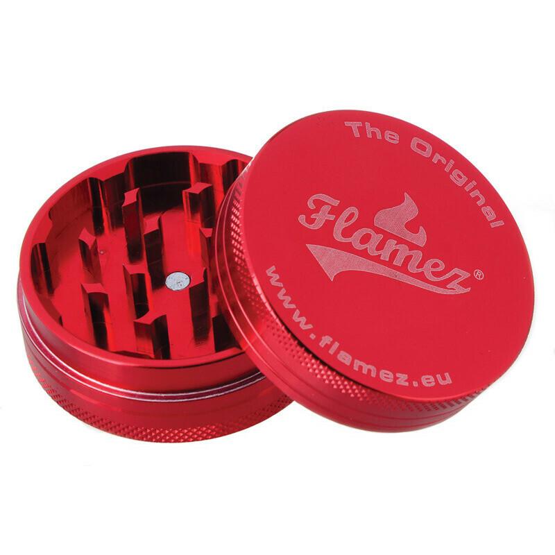 Flamez grinder 2 parts 50 mm red
