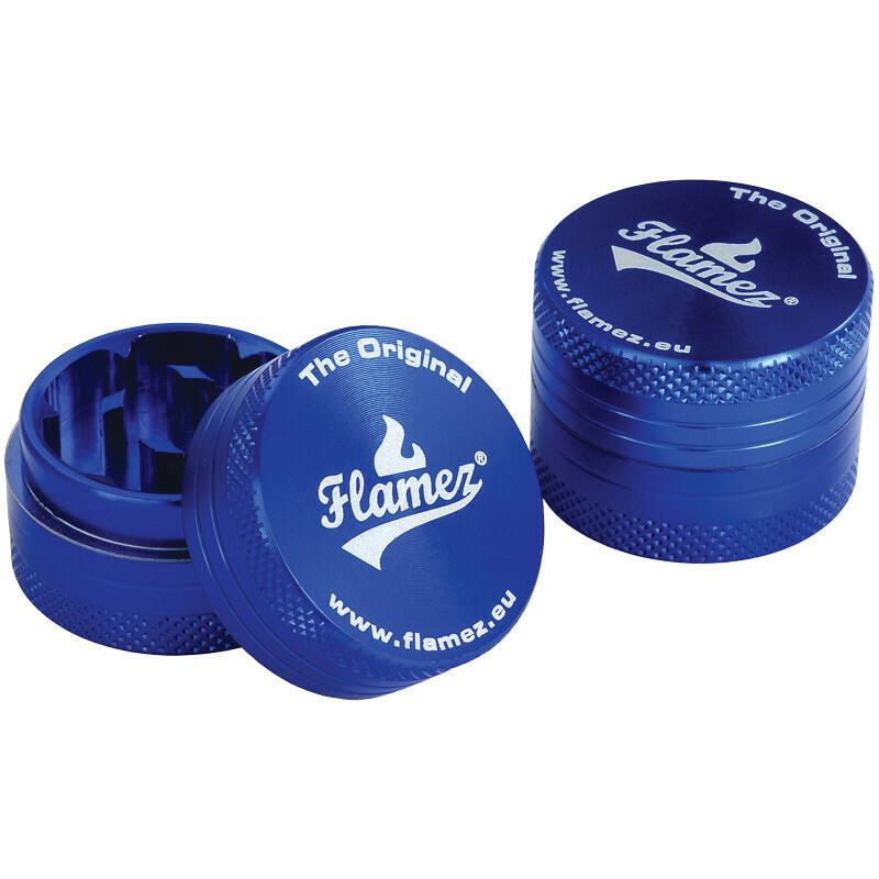 Flamez grinder 2 parts 30 mm blue