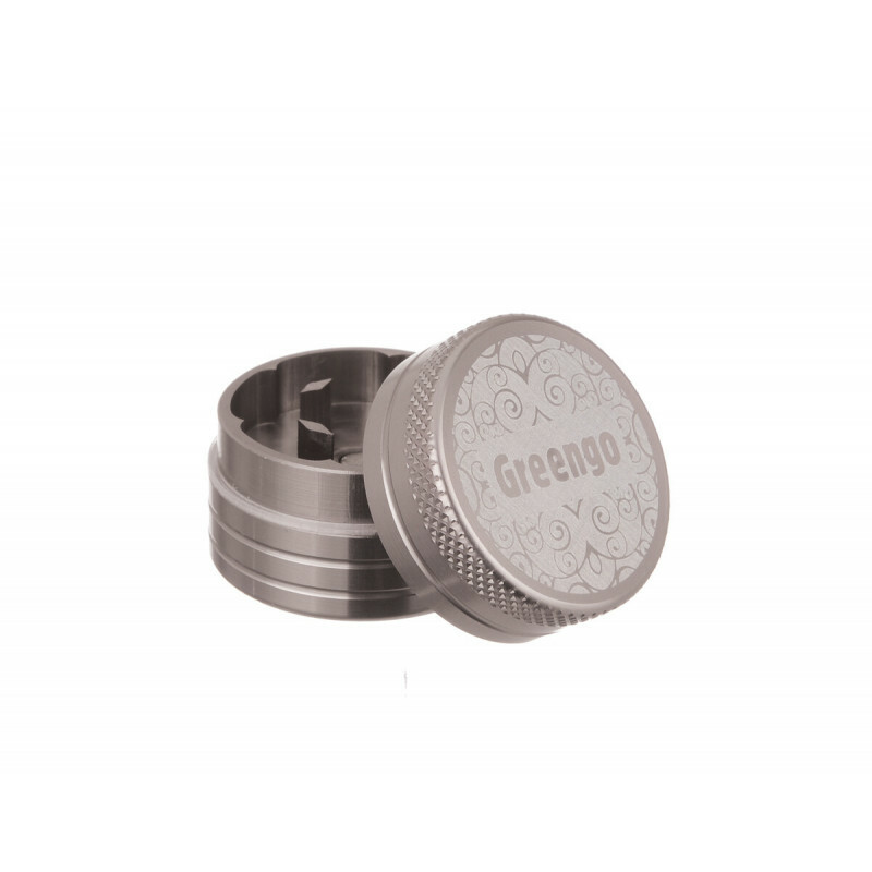 Greengo Grinder 2 Parts 30 Mm Grey