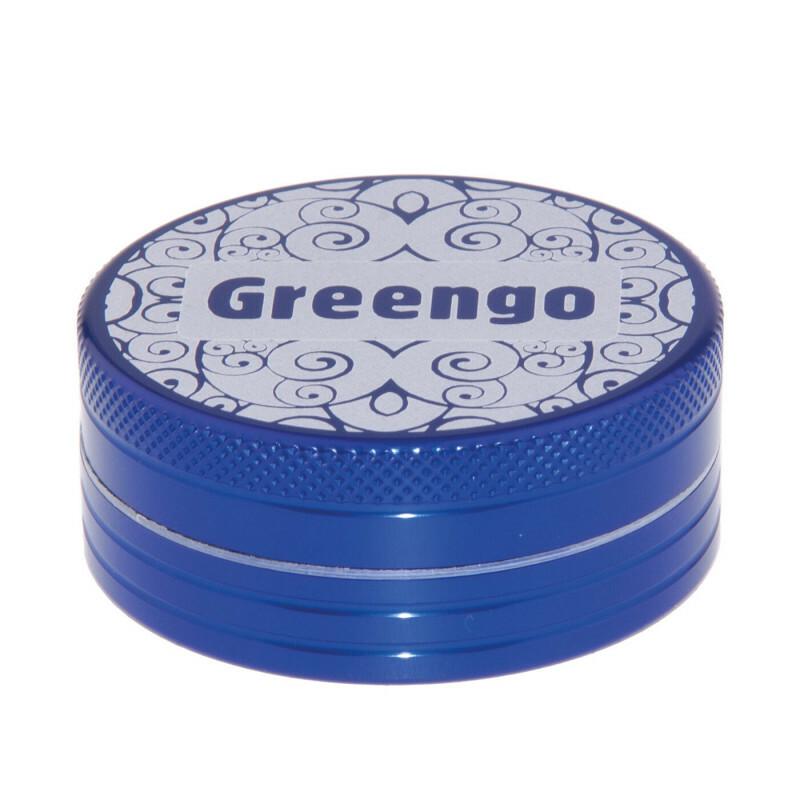 Greengo Grinder 2 Parts 50 Mm Blue