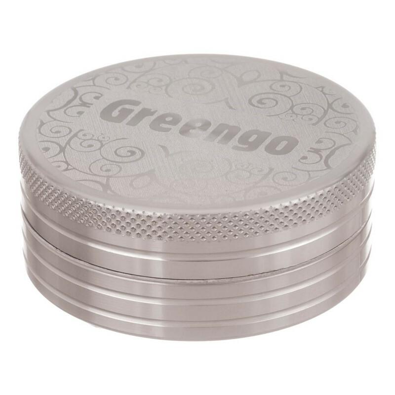 Greengo Grinder 2 Parts 50 Mm Grey