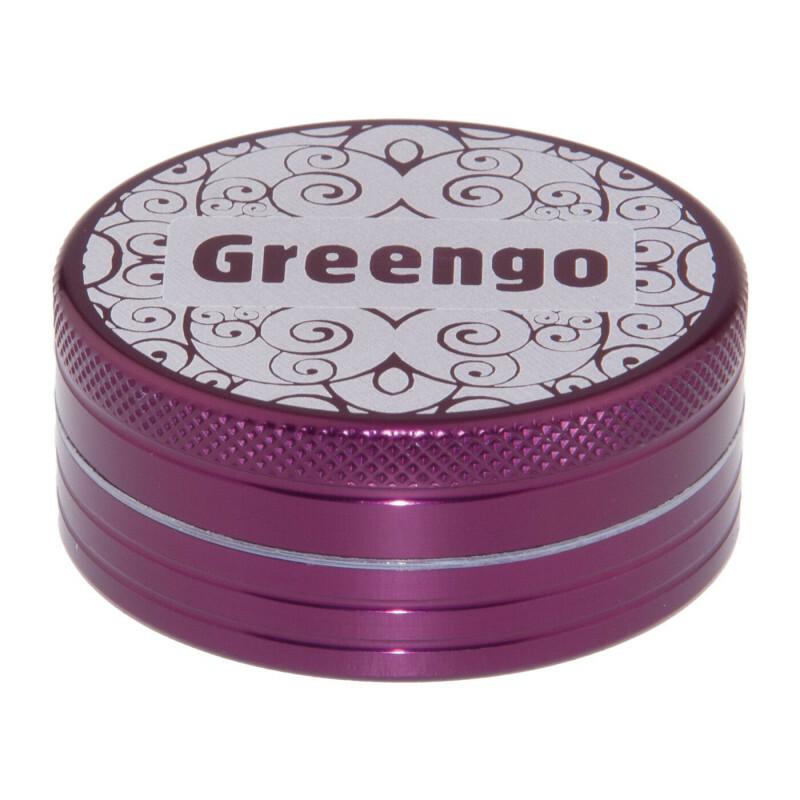 Greengo Grinder 2 Parts 50 Mm Purple