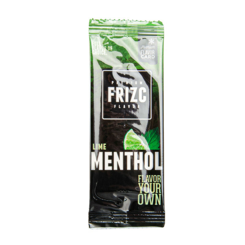 Frizc Flavor Card Menthol & Lime
