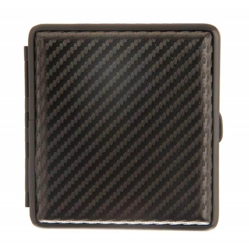 Angelo Black Carbon Cigarette Case