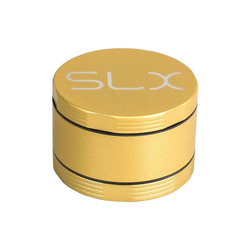 Slx Non Stick Grinder 4 Parts 62 Mm Yellow Gold