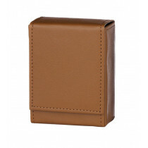 Angelo 30 Cig Box Faux Leather  Brown