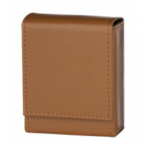 Angelo 25 Cig Box Faux Leather  Brown