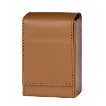 Angelo 100Mm Cig Box Faux Leather Brown