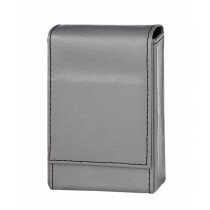 Angelo 100Mm Cig Box Faux Leather Grey