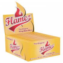 Flamez yellow kingsize slim box 50 pcs