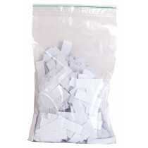 Bag colored paper tips white 2000pcs