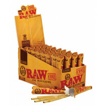 Display Raw King Size Cones Basic 3 Pack  32 Pcs