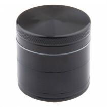 Aluminium grinder 4 parts 40mm black