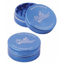 Flamez grinder 2 parts 40 mm blue