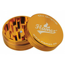 Flamez grinder 2 parts 50 mm gold