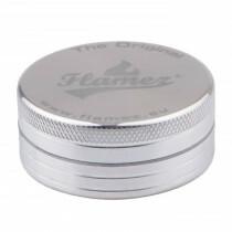 Flamez grinder 2 parts 50 mm silver