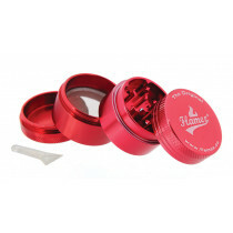 Flamez grinder 4 parts 40 mm red