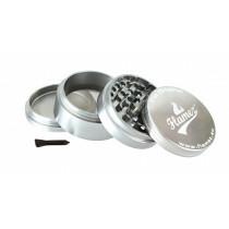 Flamez grinder 4 parts 63 mm silver