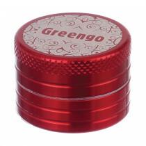 Greengo Grinder 2 Parts 30 Mm Red